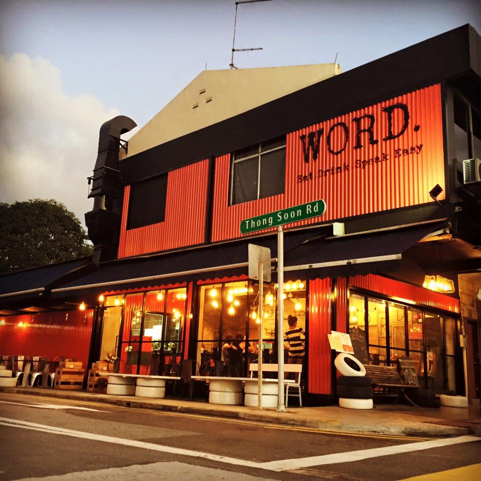Word cafe in Singapore