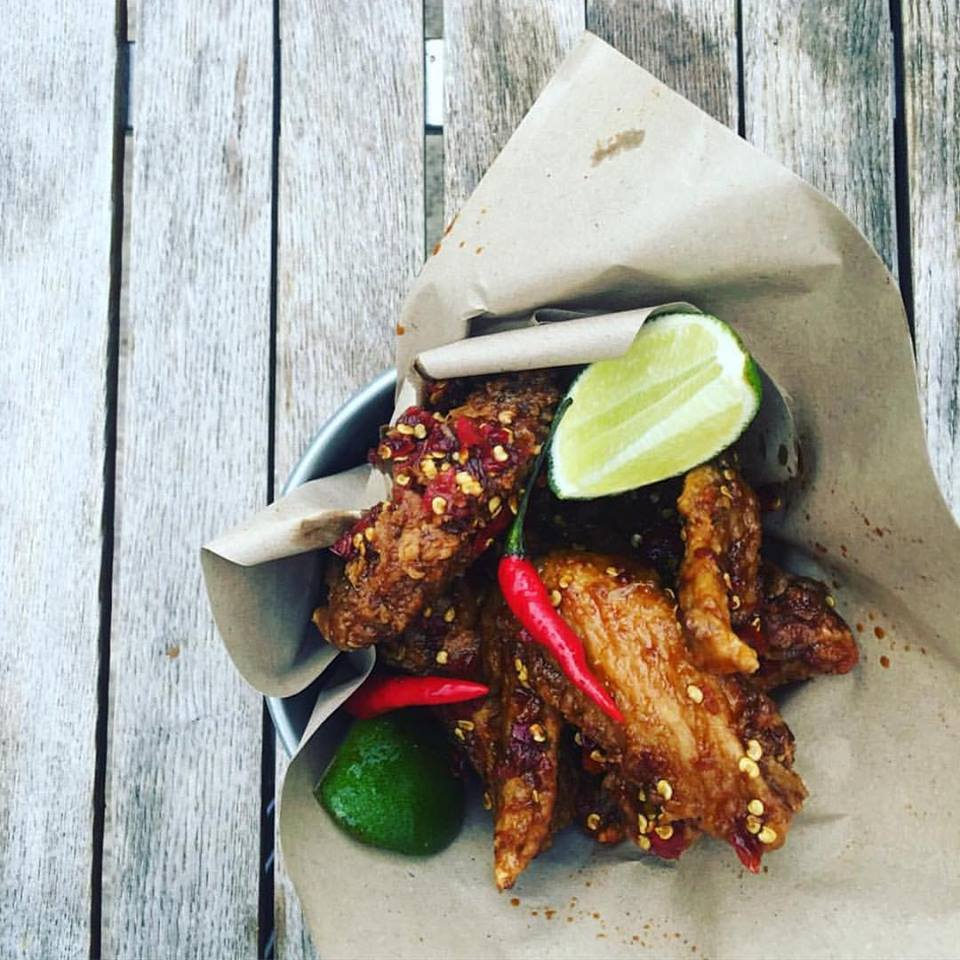 Badoque's Kepak Bing Bing chicken wings