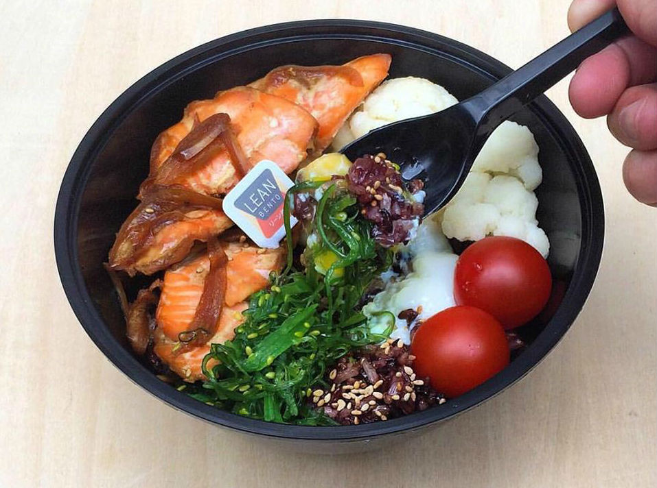 Lean Bento halal health food Singapore