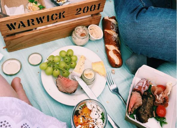 Halal gourmet picnic