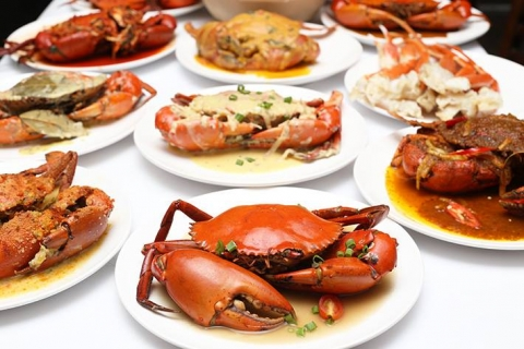 Halal crab buffet back in Singapore for 3 months