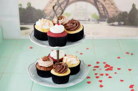 Fluff Bakery cupcakes