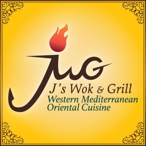 J's Wok & Grill logo