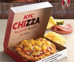 KFC finally launches the Chizza in Singapore