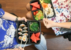 Halal sushi roll Singapore Maki-San