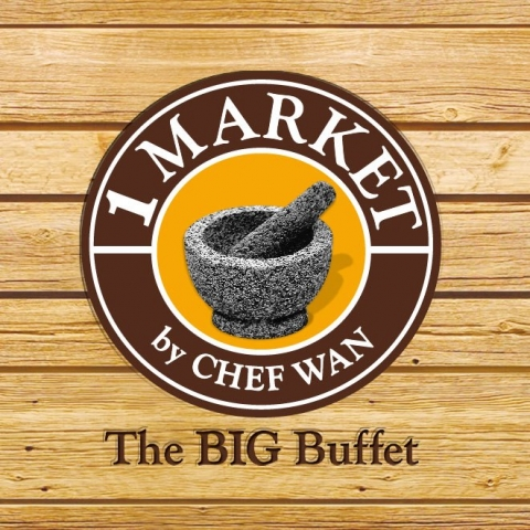 1 Market by Chef Wan logo